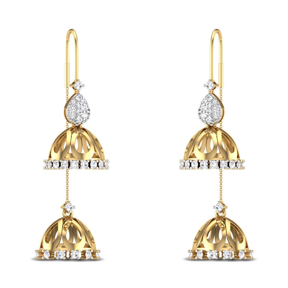 Jacynthe Sui Dhaga Diamond Earrings