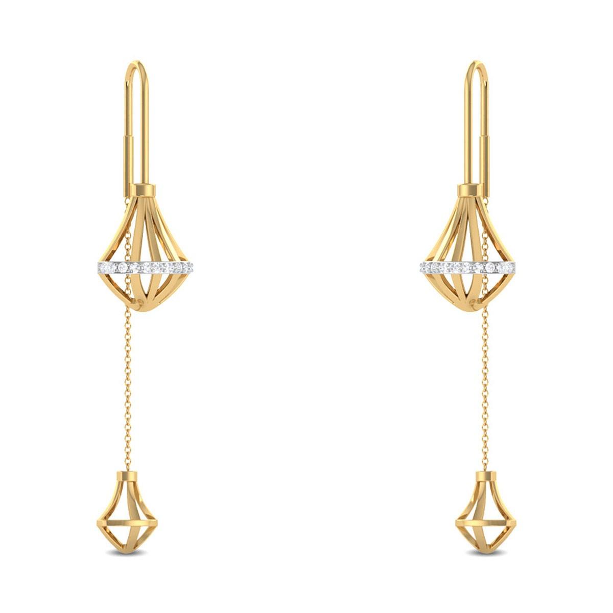 Jalissa Sui Dhaga Diamond Earrings
