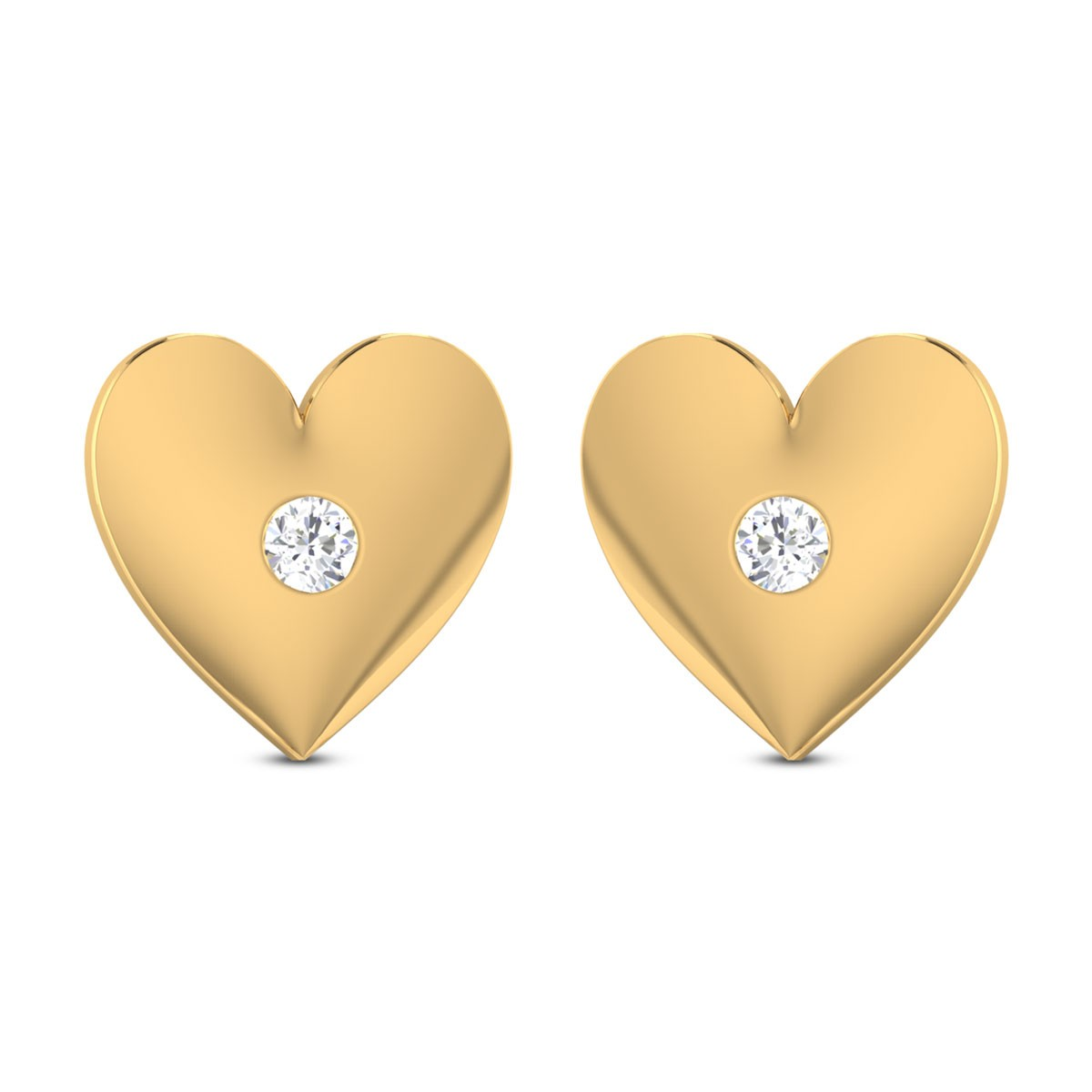 Hadleigh Heart Diamond Earrings