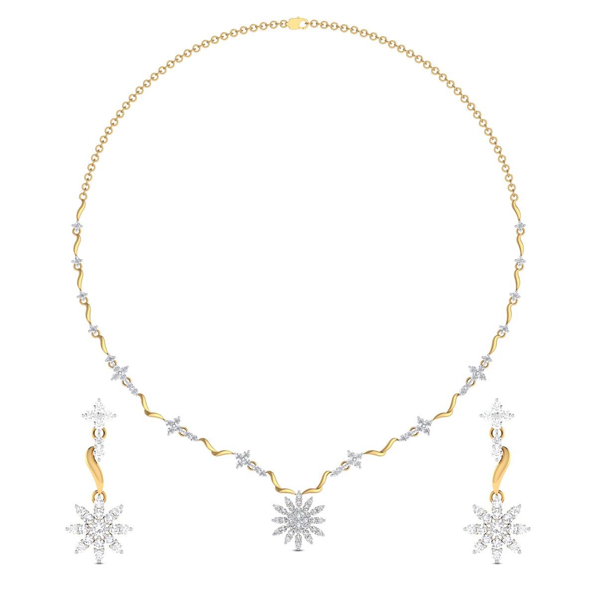 Romika Diamond Necklace