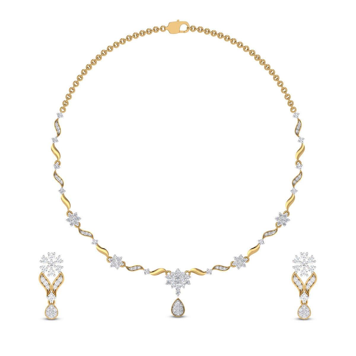 Isha Diamond Necklace
