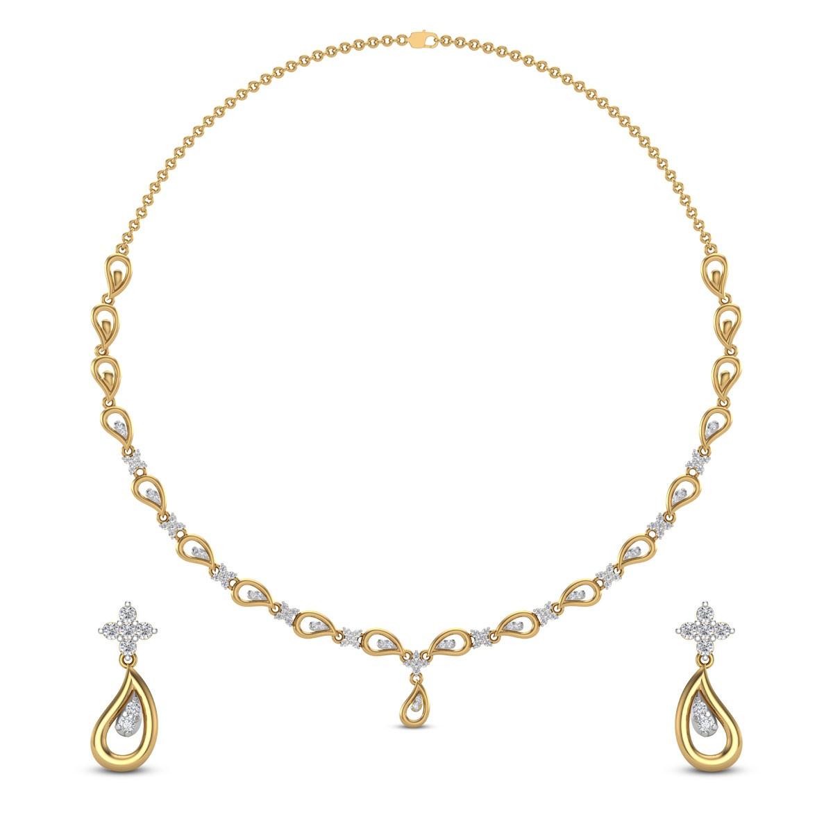 Diti Diamond Necklace
