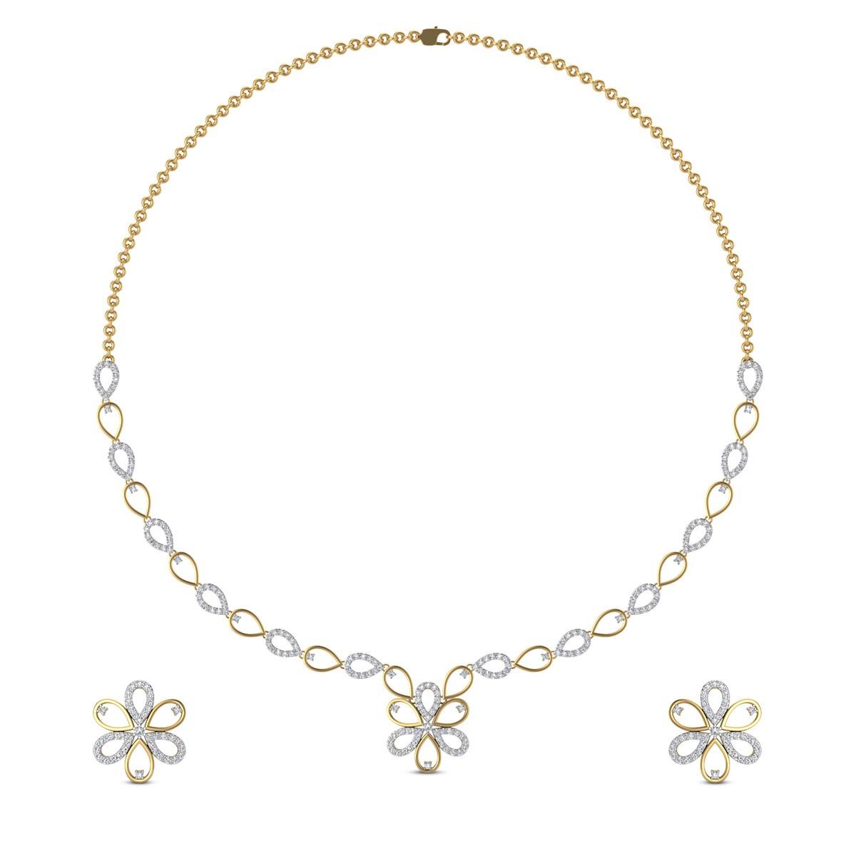 Truni Diamond Necklace