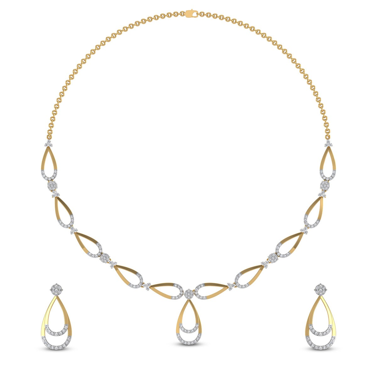 Ahvini Diamond Necklace