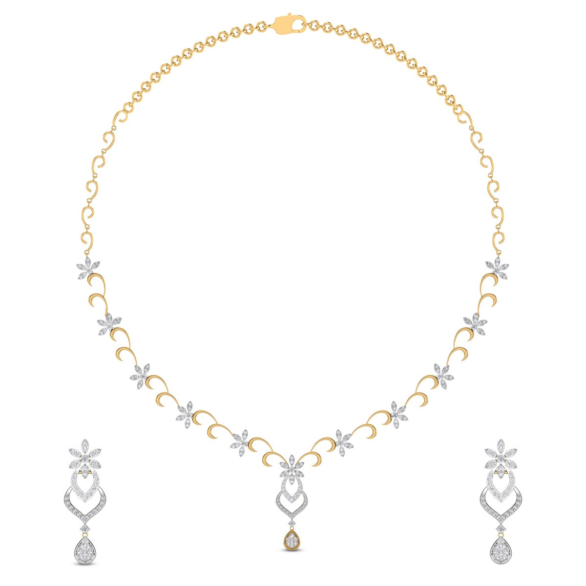 Valaria Diamond Necklace