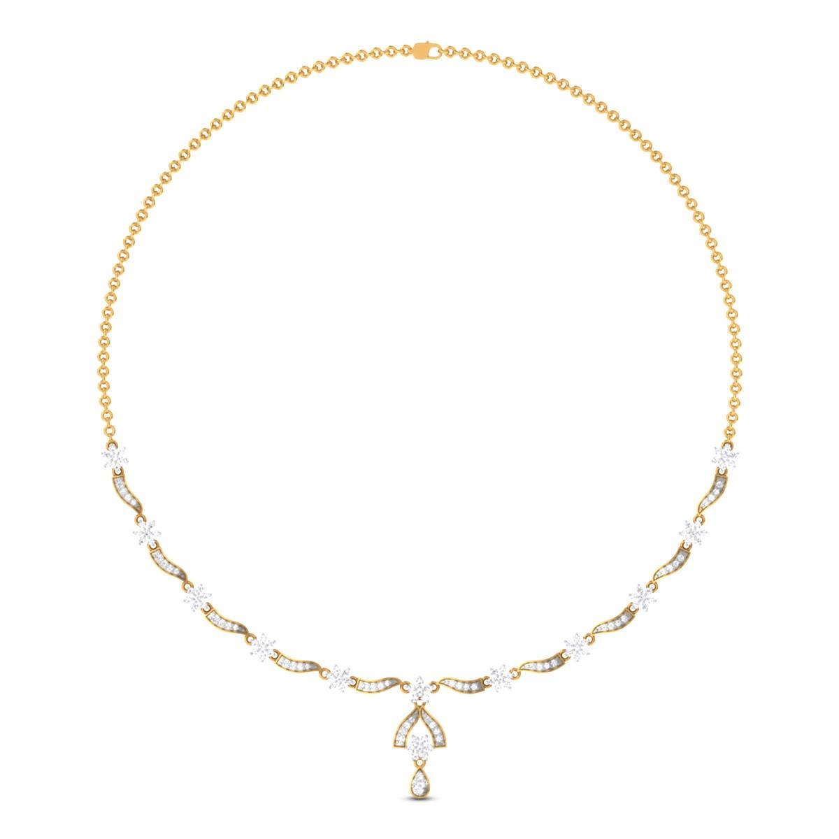 Shighra Diamond Necklace
