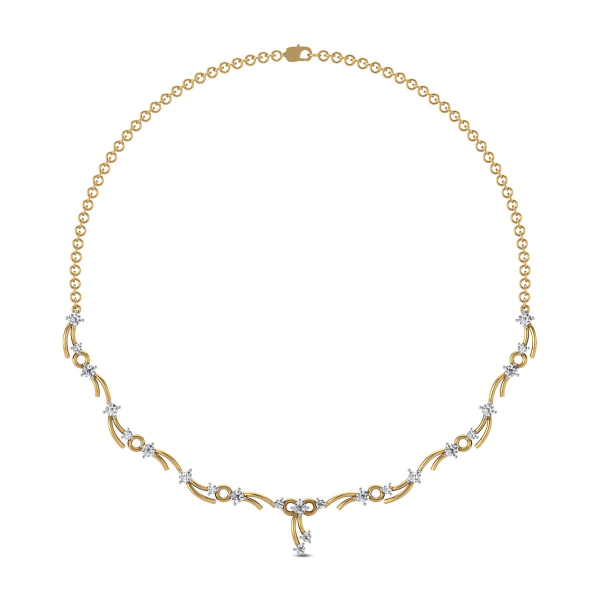 Shibani Diamond Necklace