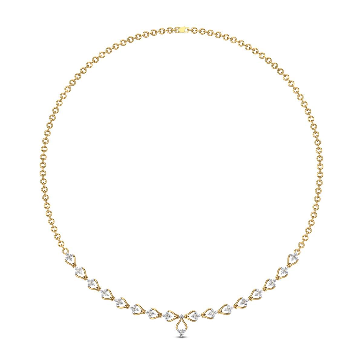 Shilish Diamond Necklace