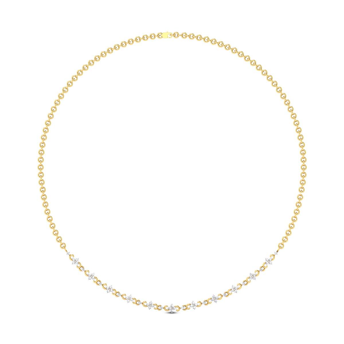 Suyati Diamond Necklace
