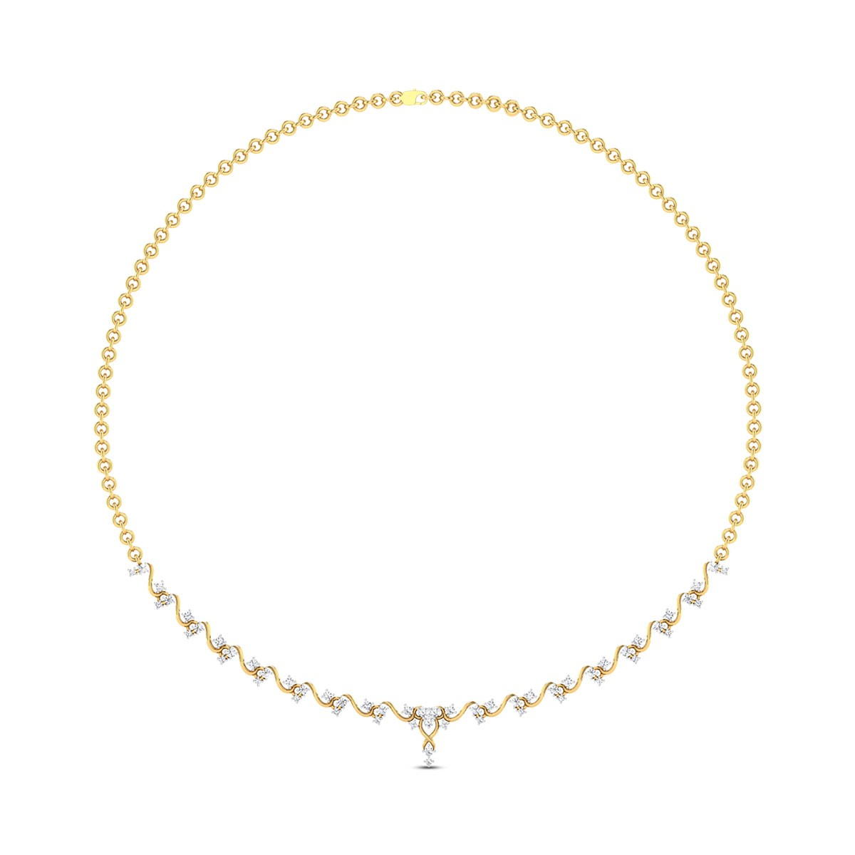 Tapesh Diamond Necklace