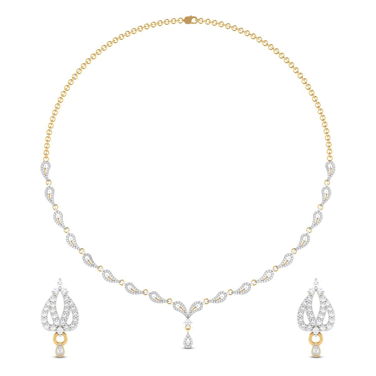 Merritt Diamond Necklace Set