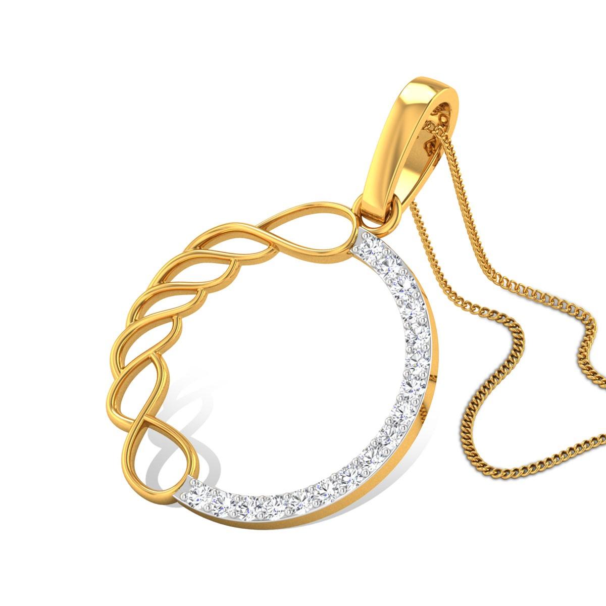Sidonie Diamond Pendant