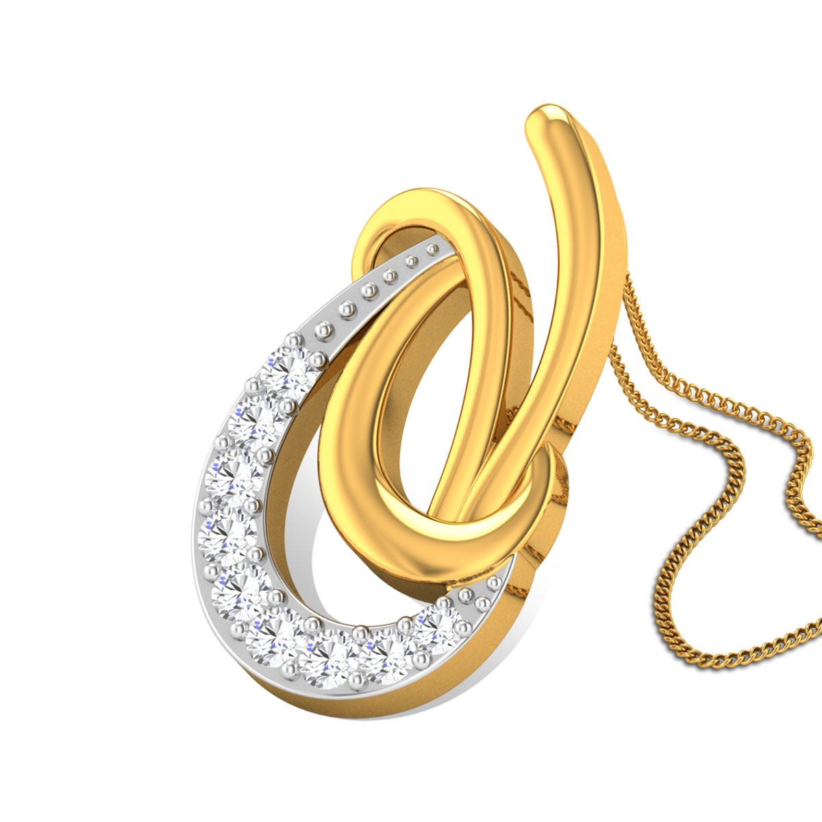 Alerion Diamond Pendant