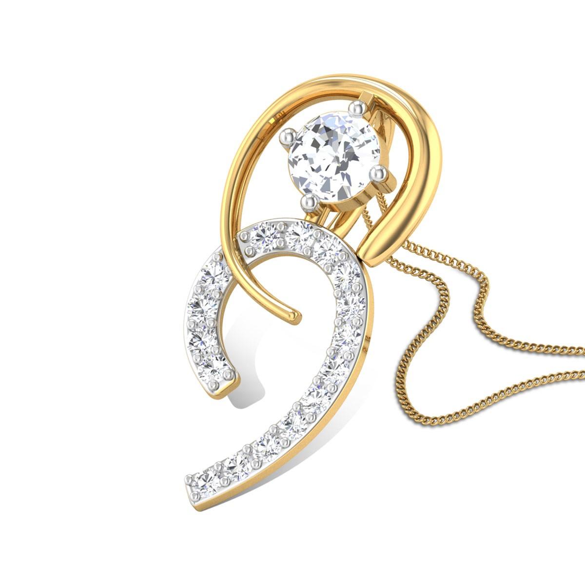 Camille Diamond Pendant