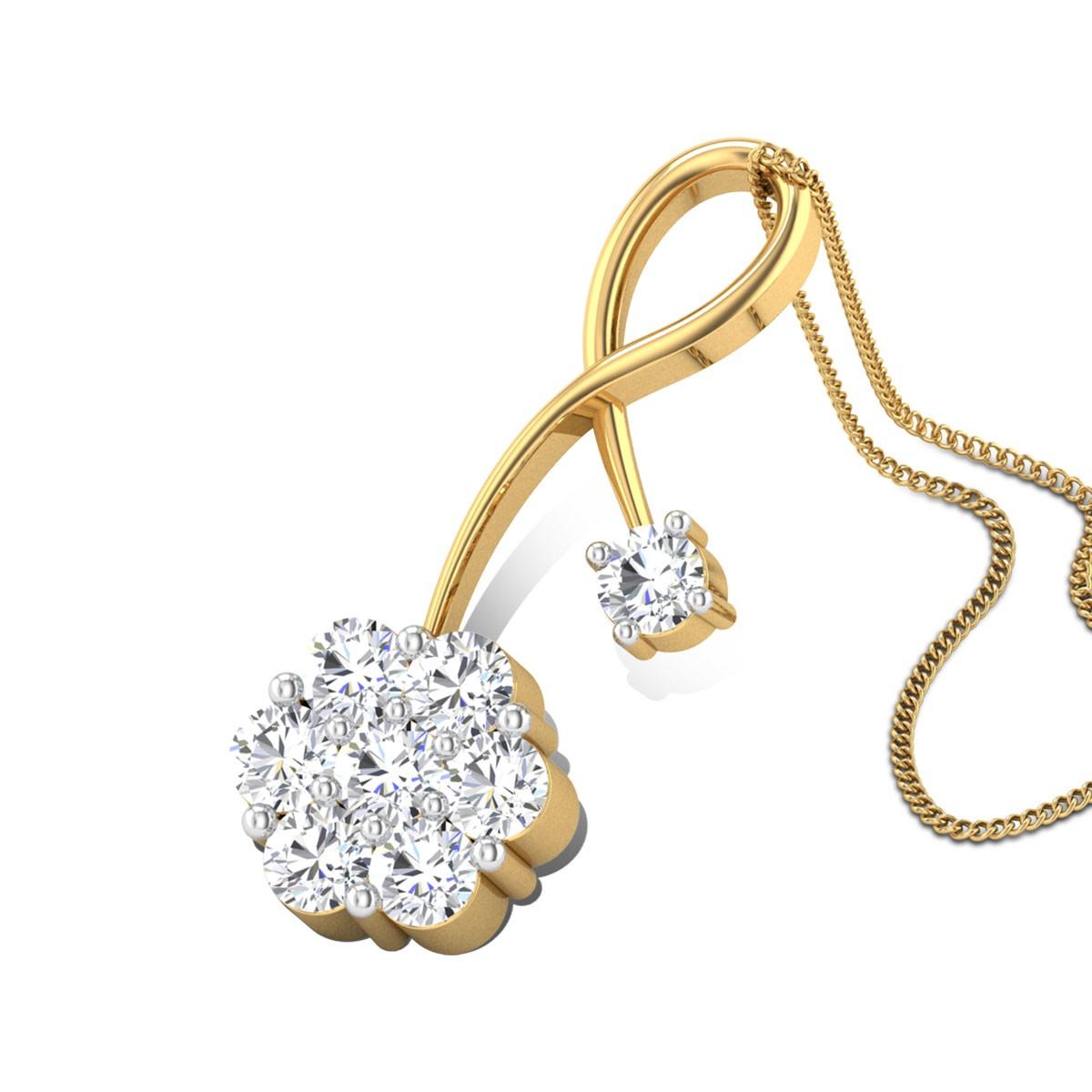 Berneta Diamond Pendant