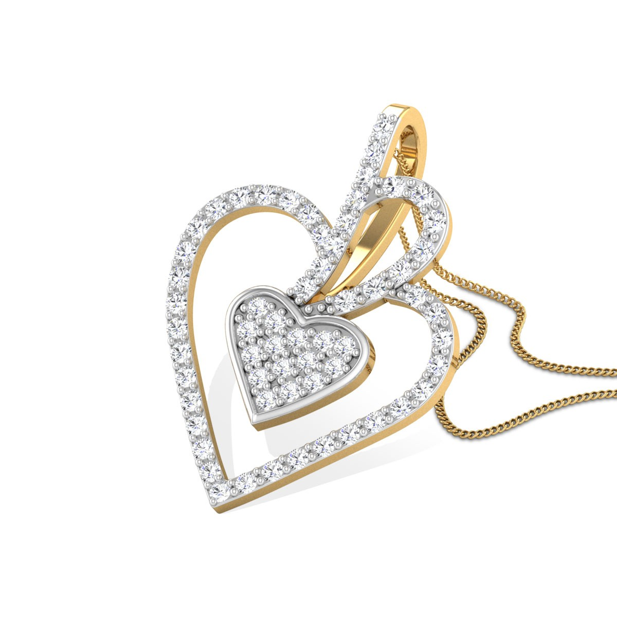 Jaden Diamond Pendant