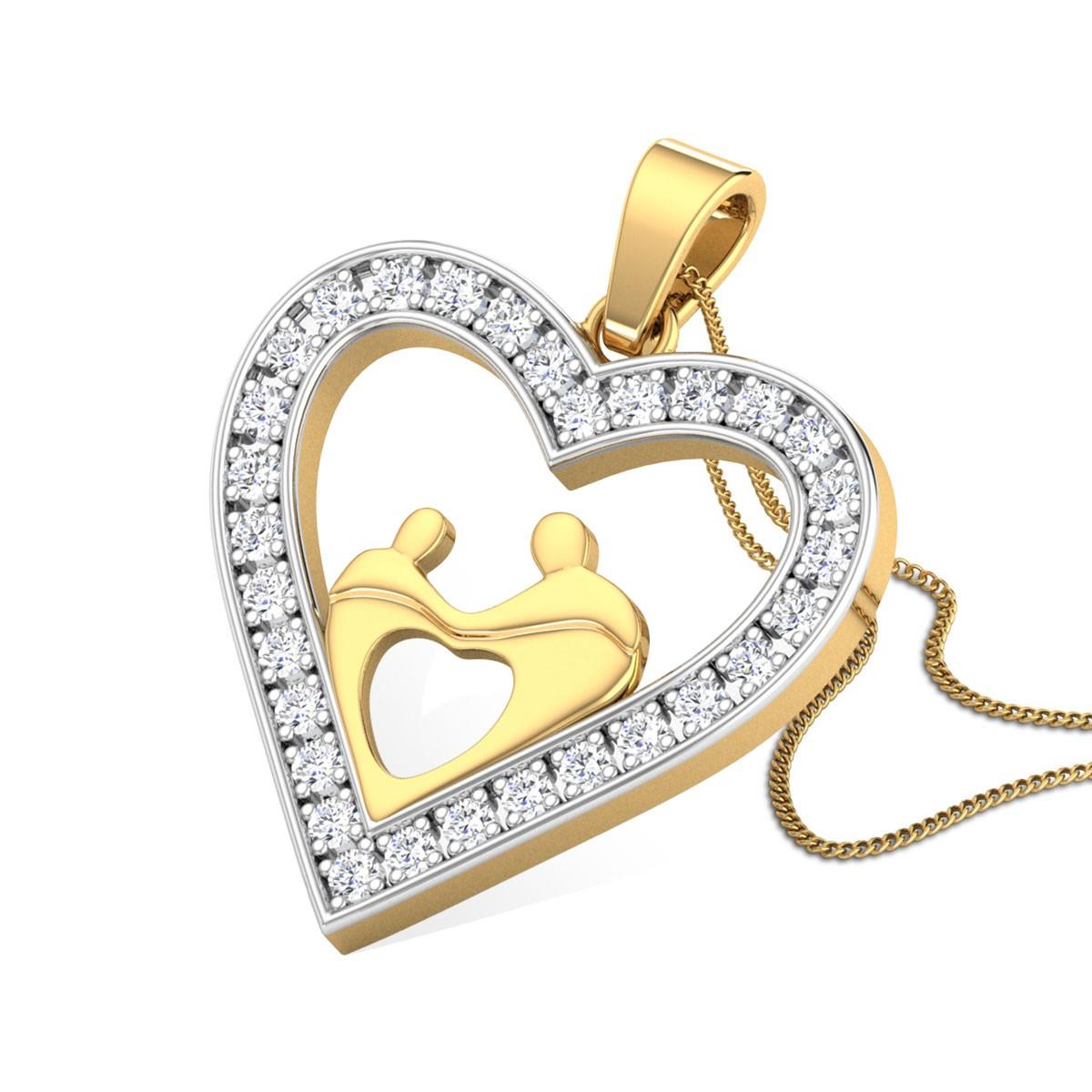 Celeste Diamond Pendant
