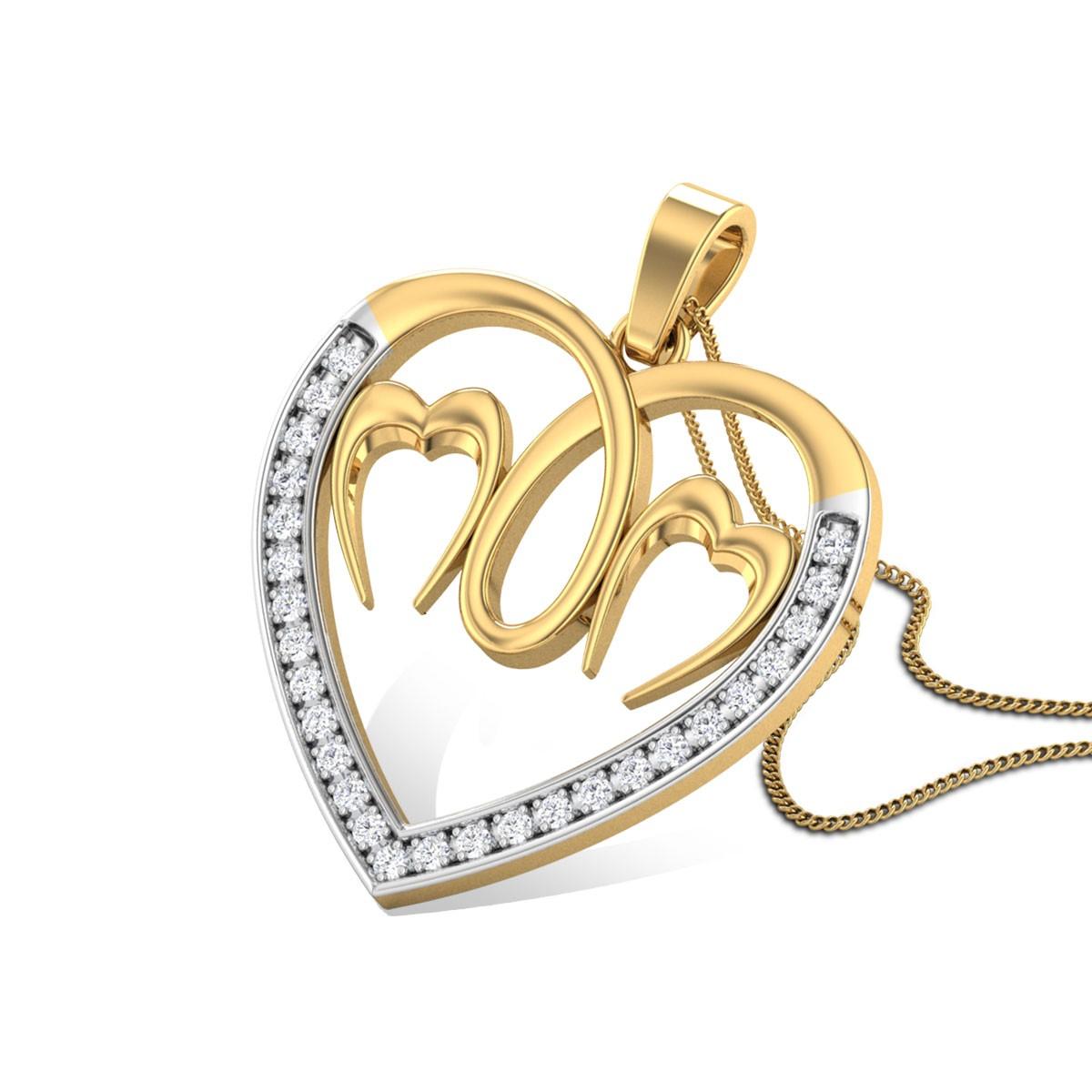 Evangaline Diamond Pendant