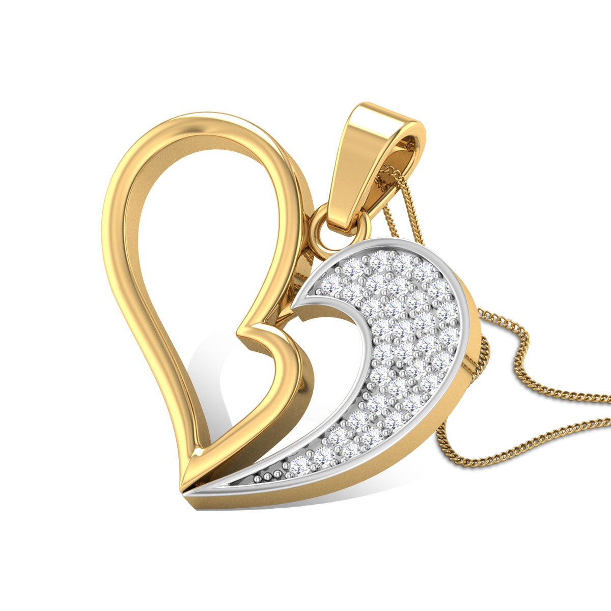 Raine Diamond Pendant