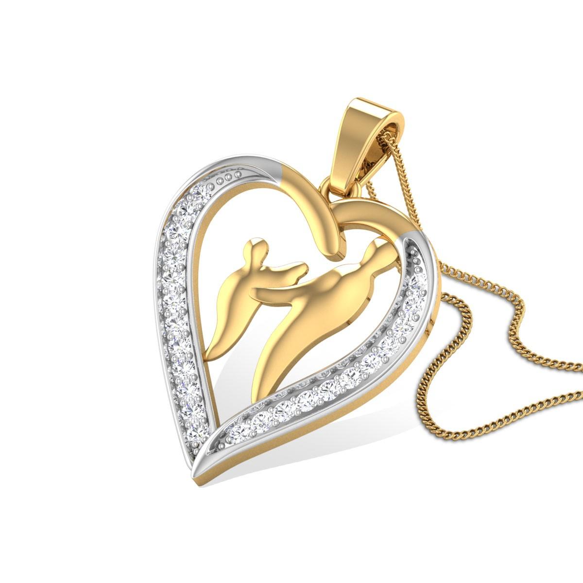 Valentina Diamond Pendant