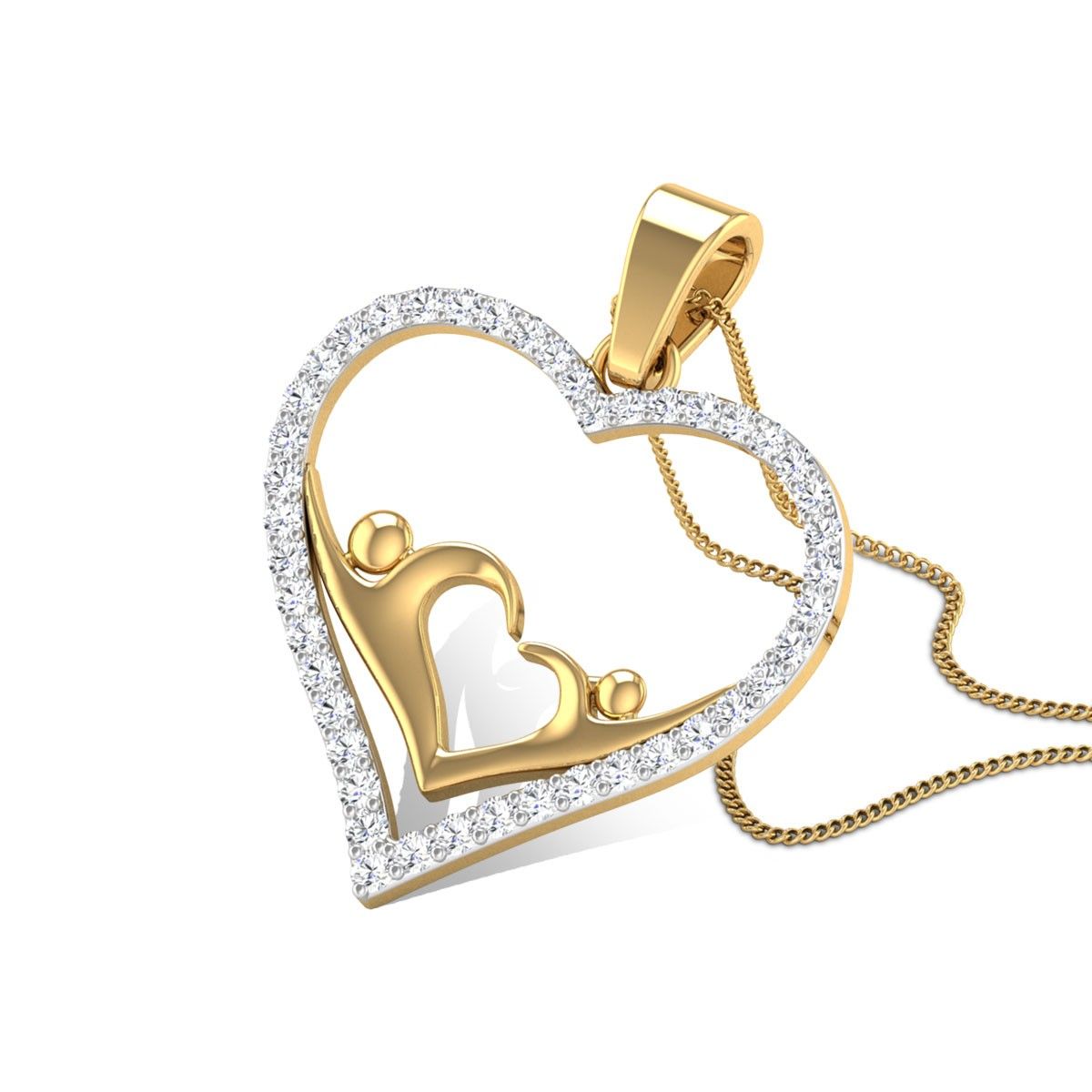 Cynthiana Diamond Pendant