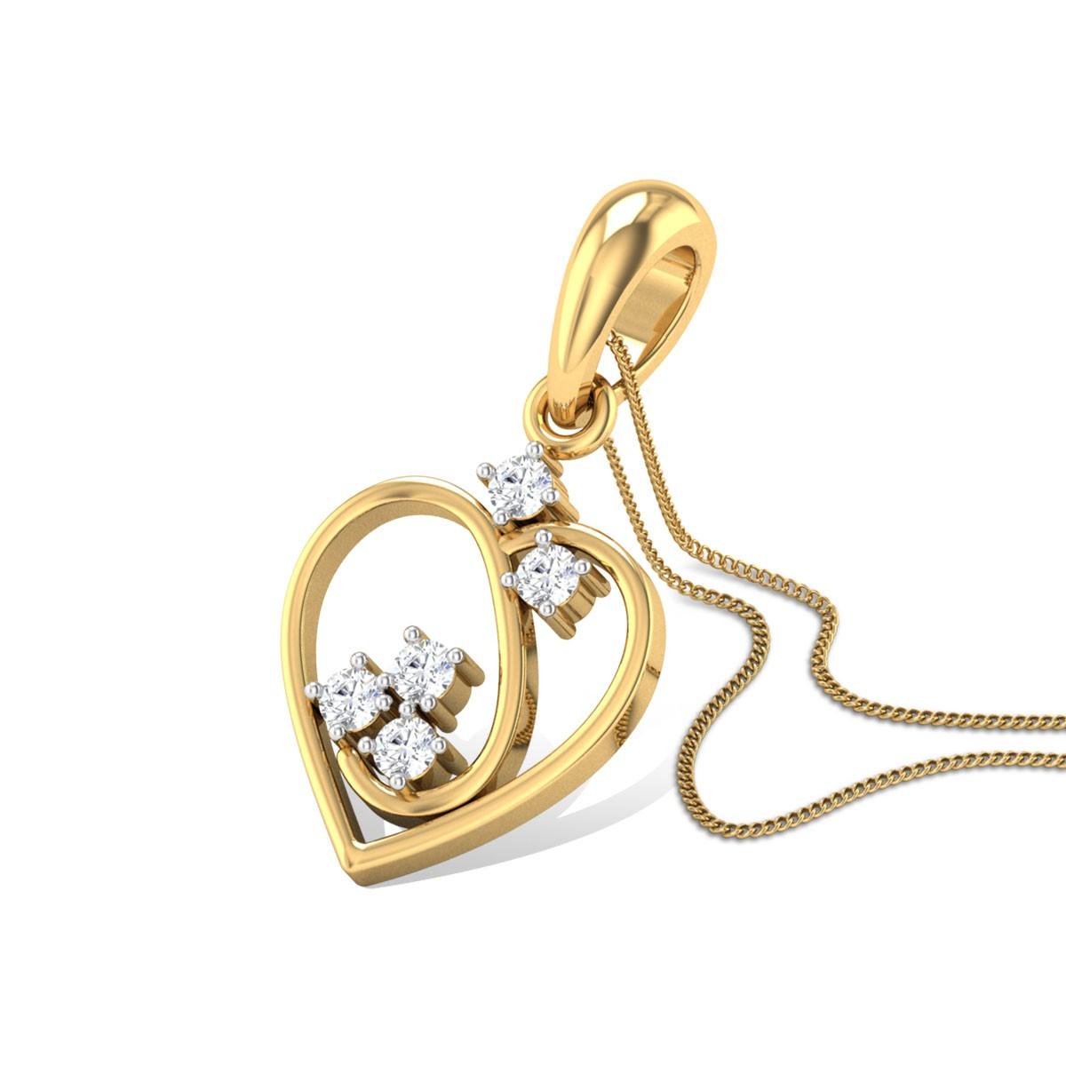 Bernardine Diamond Pendant