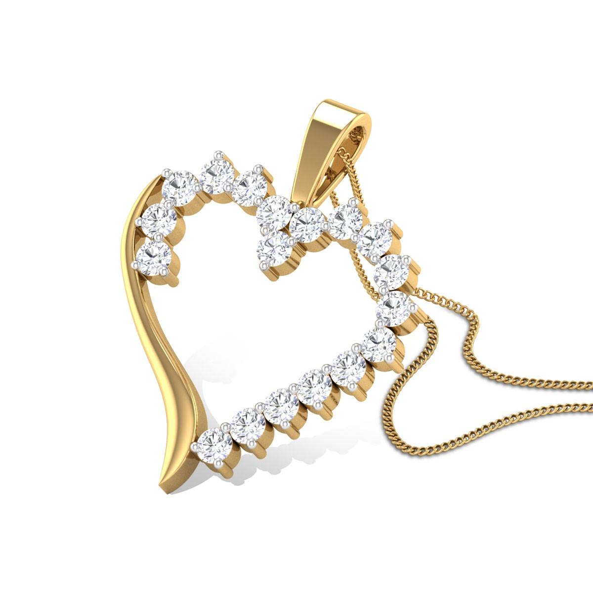 Calliope Diamond Pendant