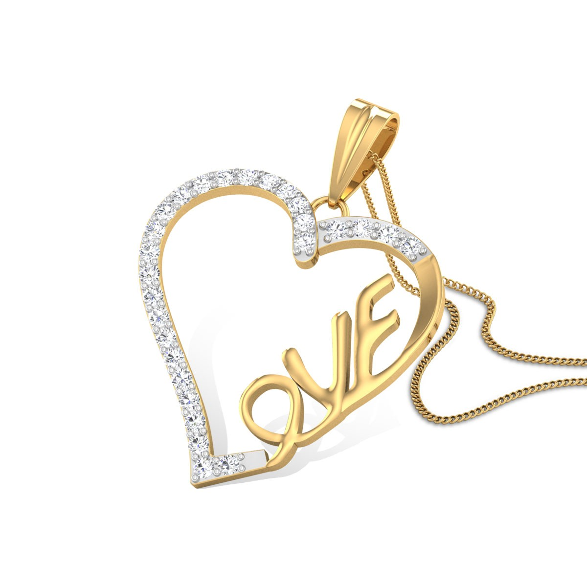 Iasmina Love Diamond Pendant