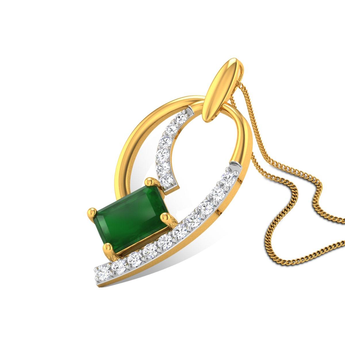 Delilah Diamond Pendant