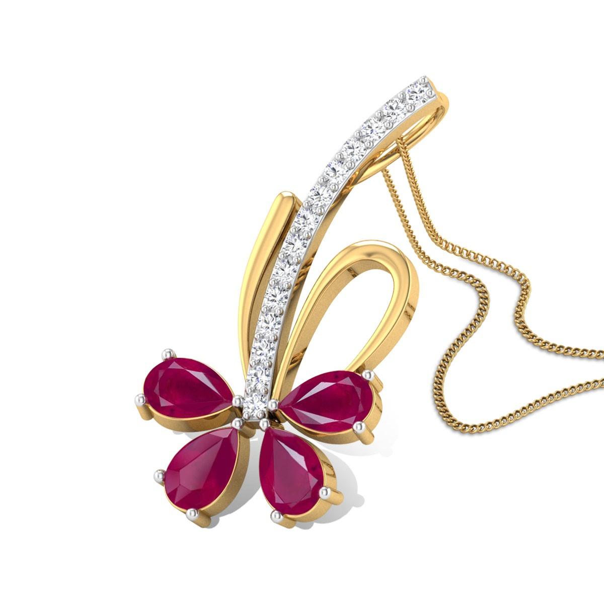 Alonsa Diamond Pendant