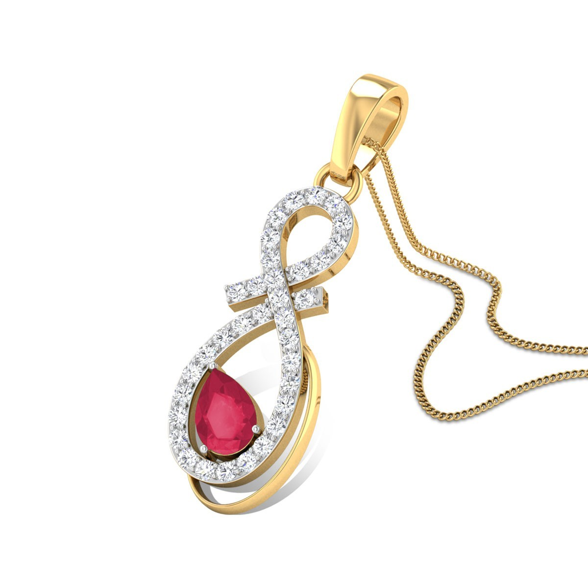 Corita Diamond Pendant