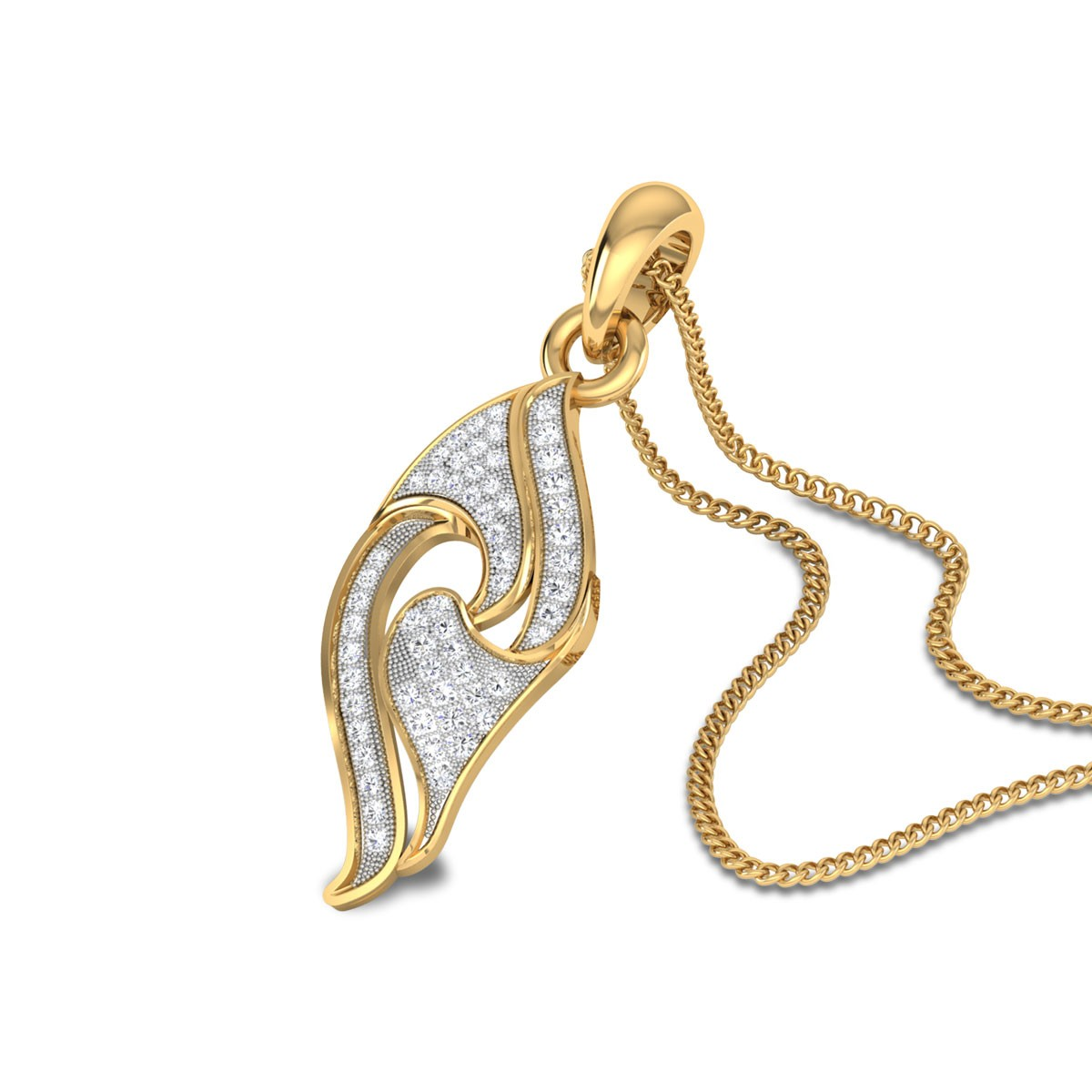 Quinter Diamond Pendant