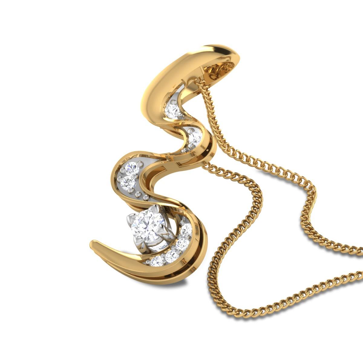 Panagiota Diamond Pendant