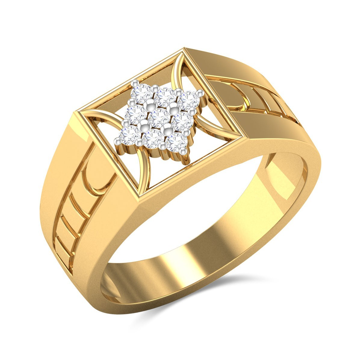 Zephyranthes Diamond Ring