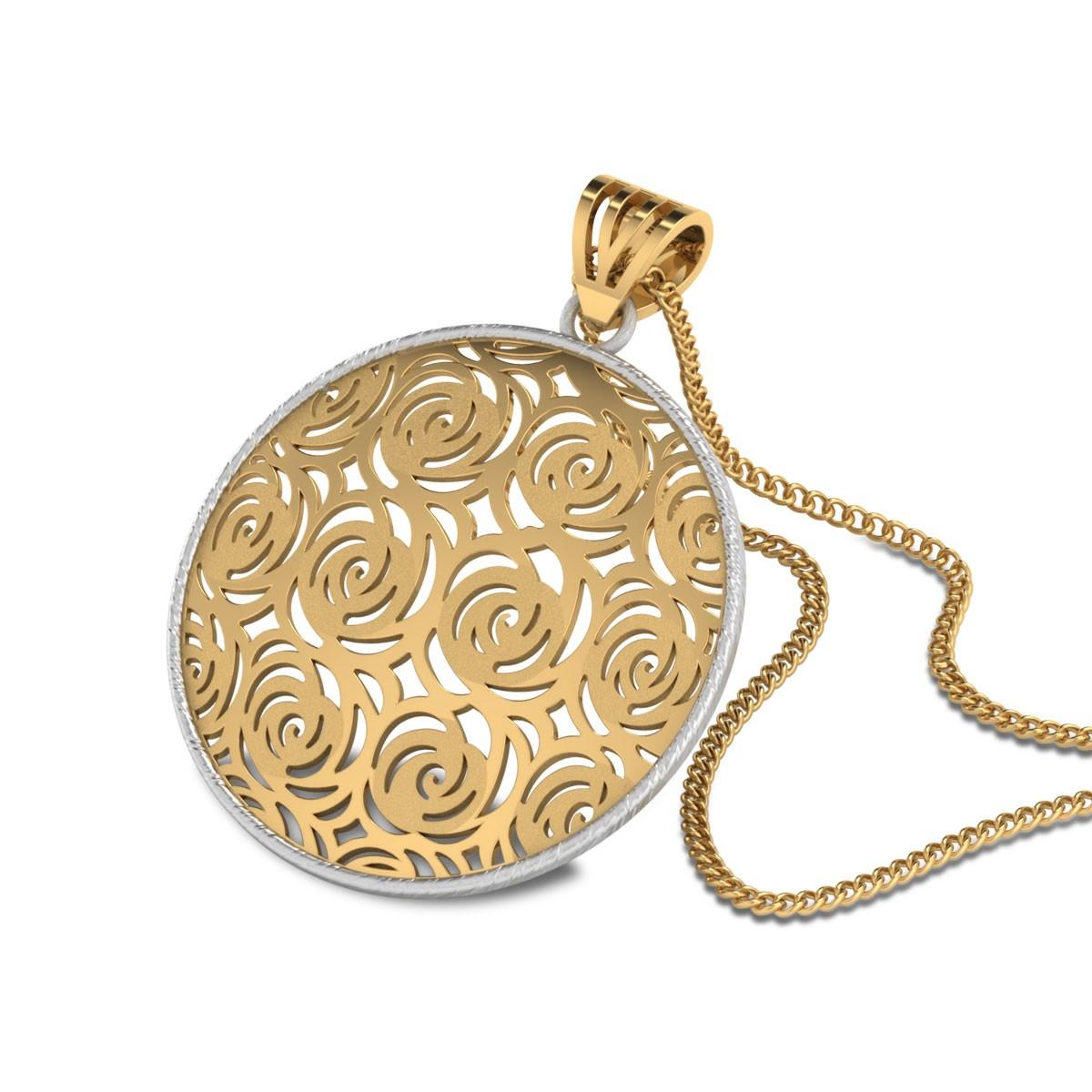 Kaileigh Cutout Gold Pendants