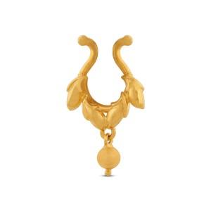 Arohi Yellow Gold Nosepin