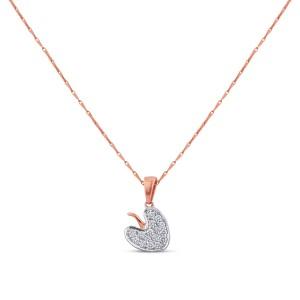Cassia Diamond Pendant with Chain