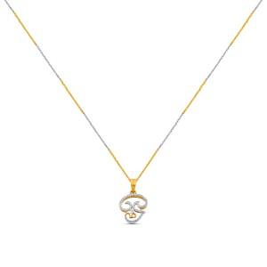 Lilika Diamond Pendant with Chain