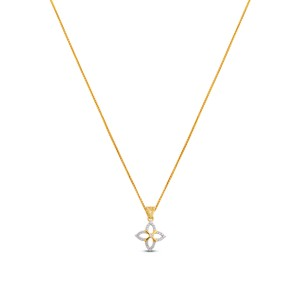 Bella Diamond & Yellow Gold Pendant
