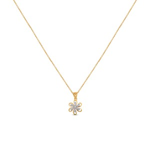 Dielle Diamond & Yellow Gold Pendant