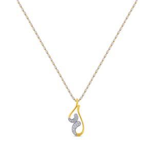 Thalia Diamond Pendant with Chain