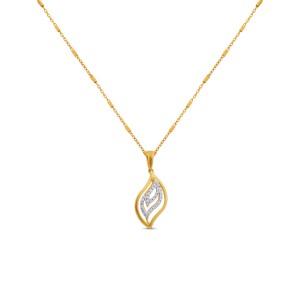 Imani Diamond Pendant with Chain