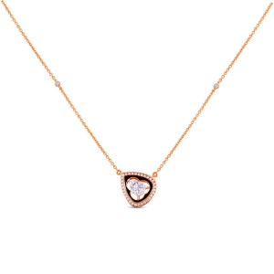 Cecily Diamond Pendant with Chain
