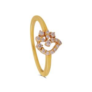Bonnie Yellow Gold Diamond Ring