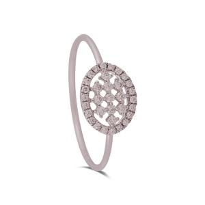 Celine White Gold Diamond Ring
