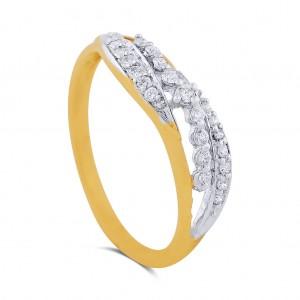 Lilah Yellow Gold Diamond Ring