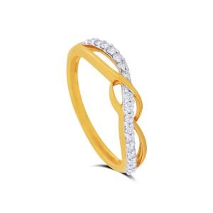 Naomi Yellow Gold Diamond Ring