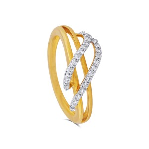 Julianna Yellow Gold Diamond Ring