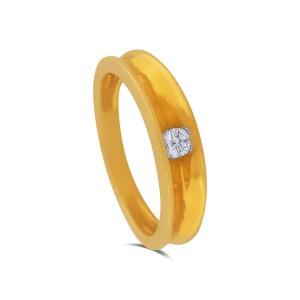 Rivka Yellow Gold Diamond Ring