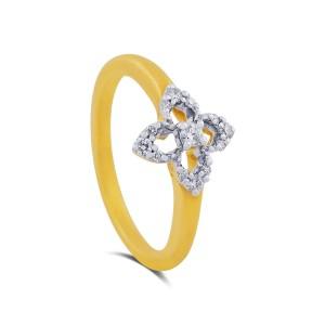 Cara Yellow Gold Diamond Ring